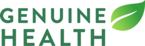 logo for conference break sponsor Genuine Health
