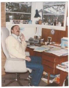 Michael's home office in 1982